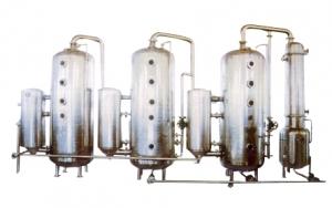 WZ 111 500-5000系列三效节能外循换环真空浓缩器(能回收酒精)