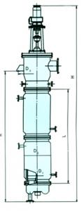 LG系列离心式刮板薄膜蒸发器
